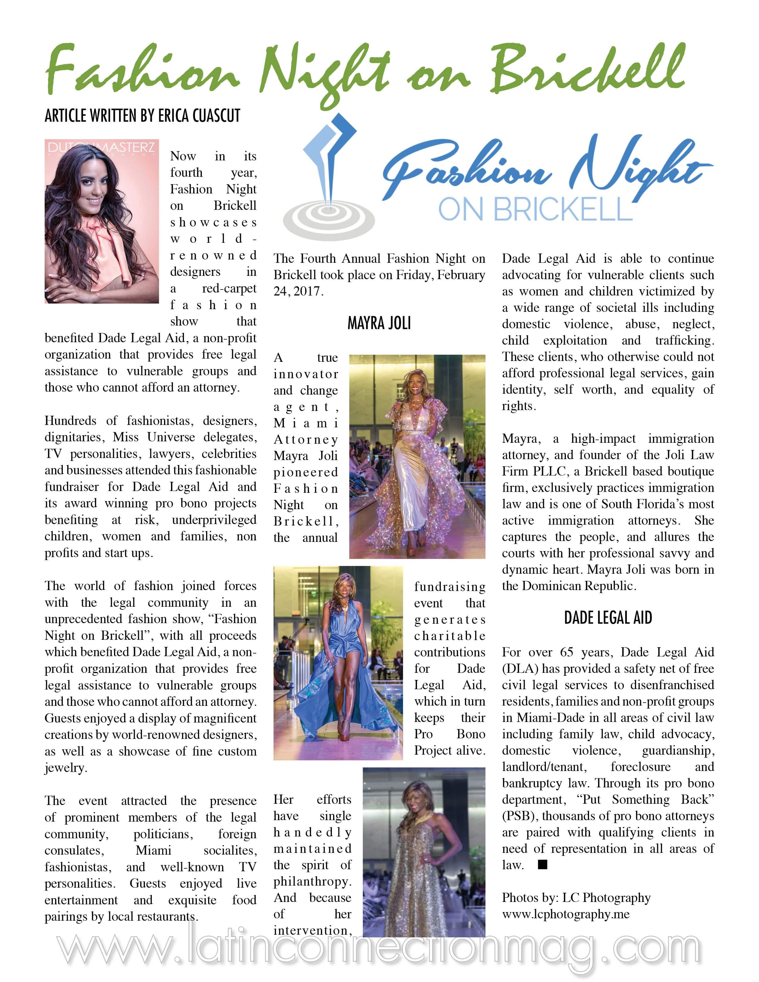 Fashion Night by Latin Connection Magazine