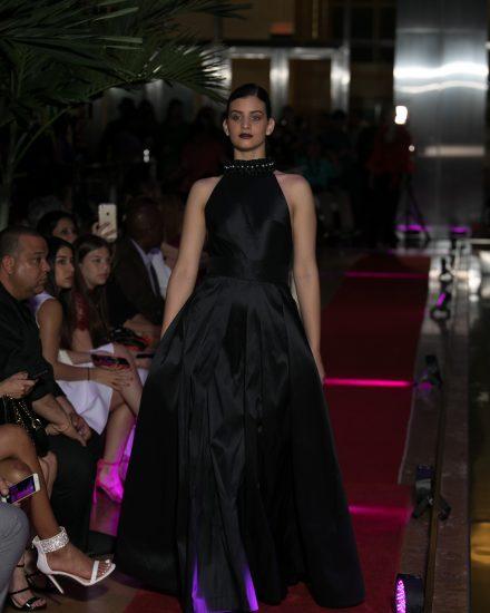 Runway fashion at Fashion Night on Brickell 2018