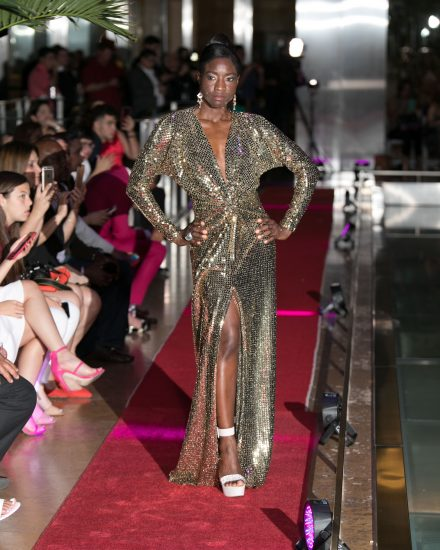 Runway fashion at Fashion Night on Brickell 2018